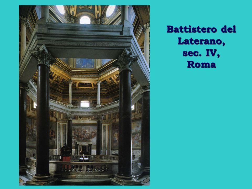 Battistero del Laterano, sec. IV, Roma