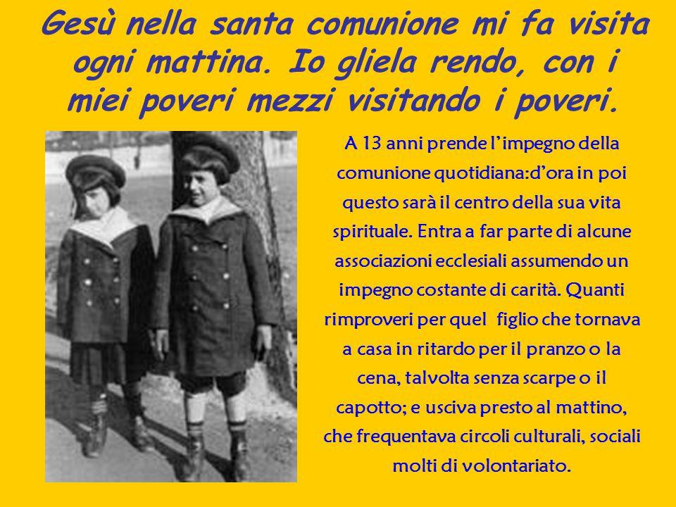 La Rivoluzione della Carità Beatificato nel 1990 da papa Giovanni Paolo II Frassati è icona di quel volontariato della carità che si inserisce nella più viva tradizione dei santi sociali piemontesi (Don Bosco).