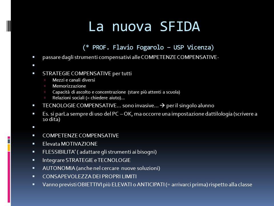 La nuova SFIDA (* PROF.