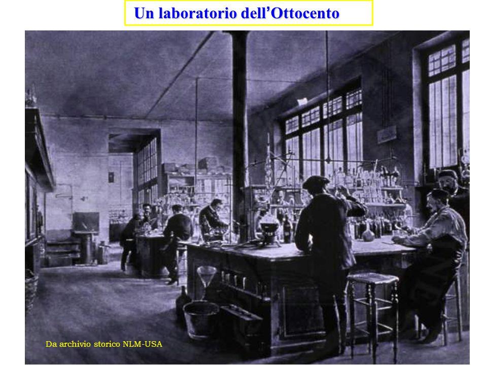 Un laboratorio dell ' Ottocento Un laboratorio dell ' Ottocento Da archivio storico NLM-USA