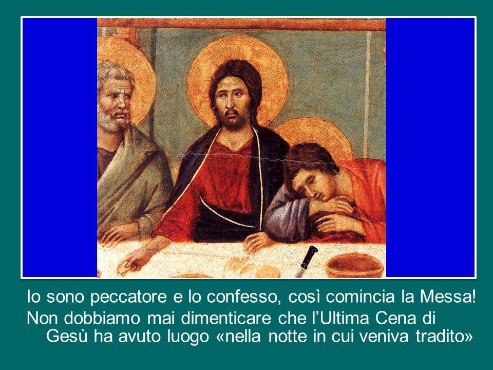 Se ognuno di noi non si sente bisognoso della misericordia di Dio, non si sente peccatore, è meglio che non vada a Messa.
