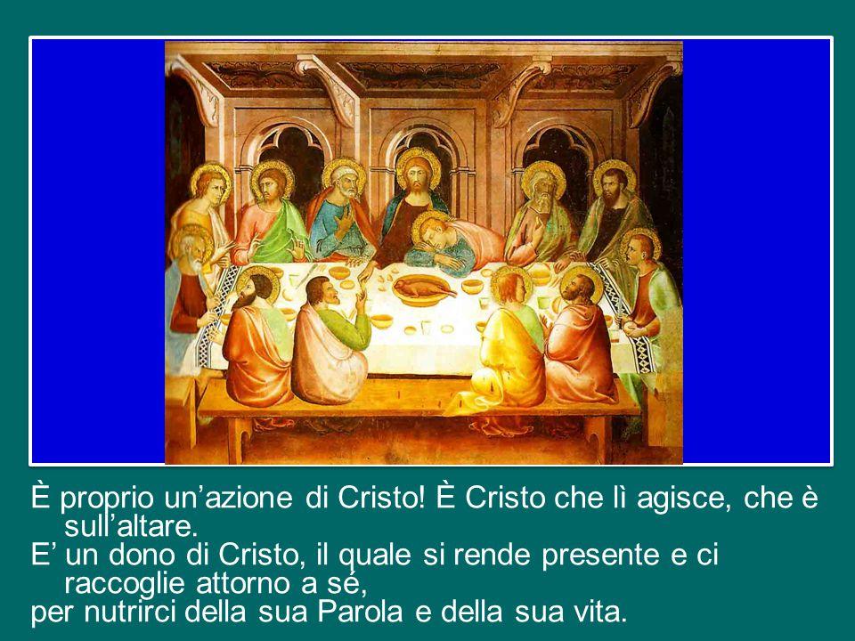Un ultimo indizio prezioso ci viene offerto dal rapporto tra la celebrazione eucaristica e la vita delle nostre comunità cristiane.