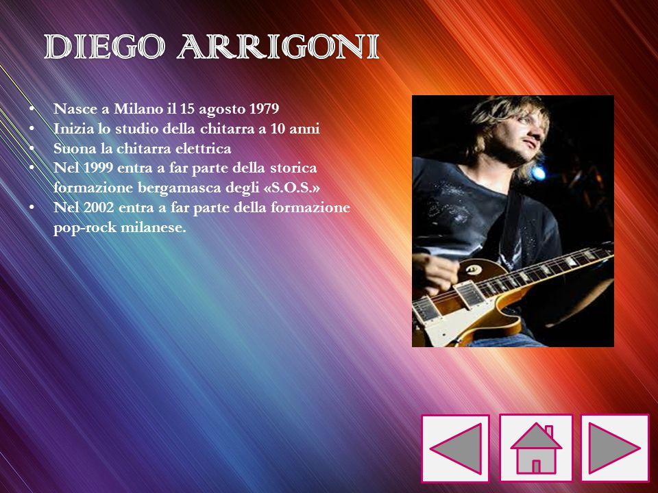 Nasce a Milano il 15 agosto 1979 Inizia lo studio della chitarra a 10 anni Suona la chitarra elettrica Nel 1999 entra a far parte della storica formaz