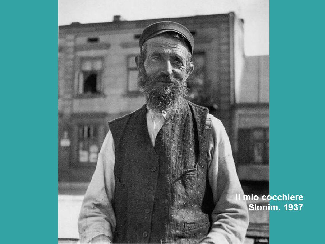 Il mio cocchiere Slonim. 1937