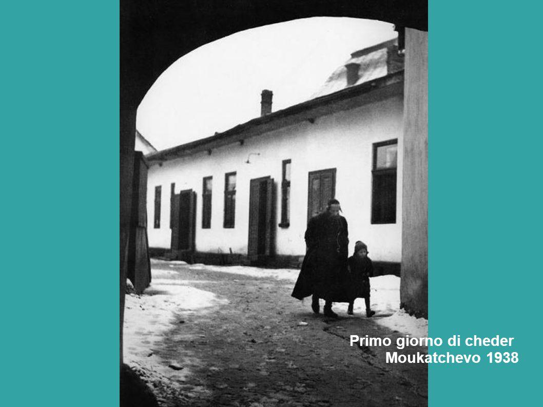 Primo giorno di cheder Moukatchevo 1938
