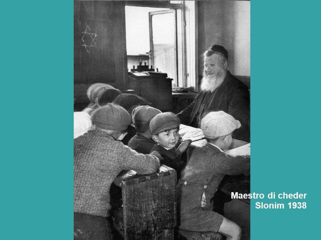 Maestro di cheder Slonim 1938