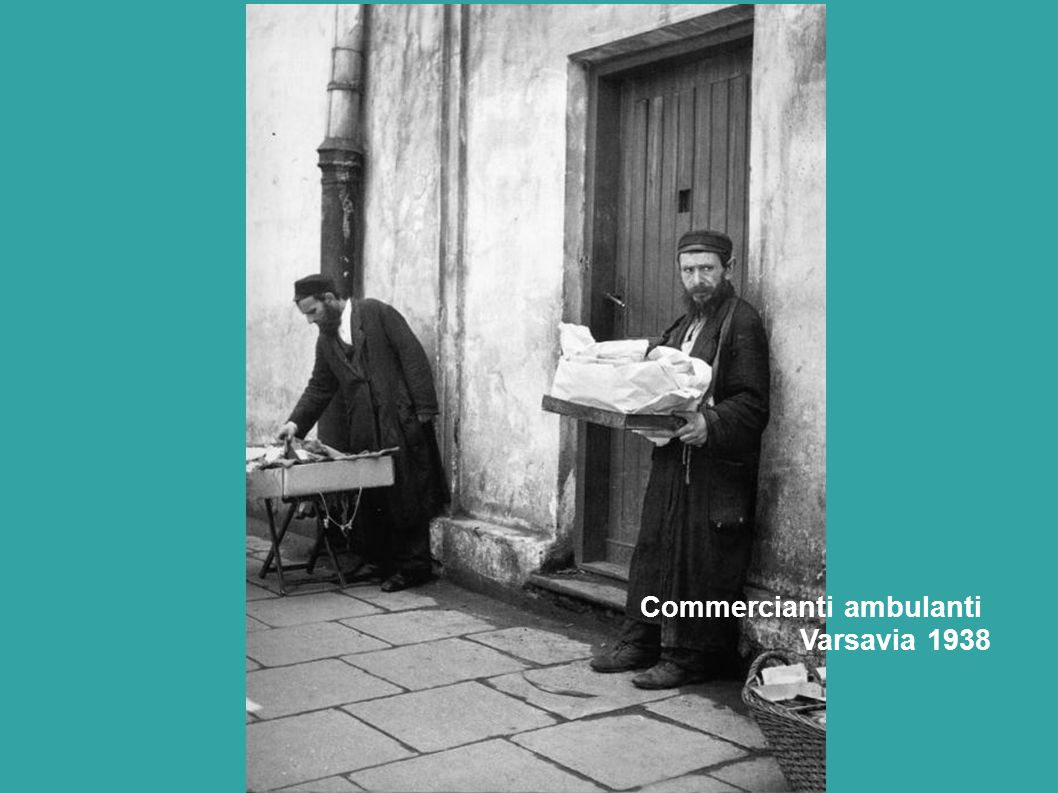 Commercianti ambulanti Varsavia 1938
