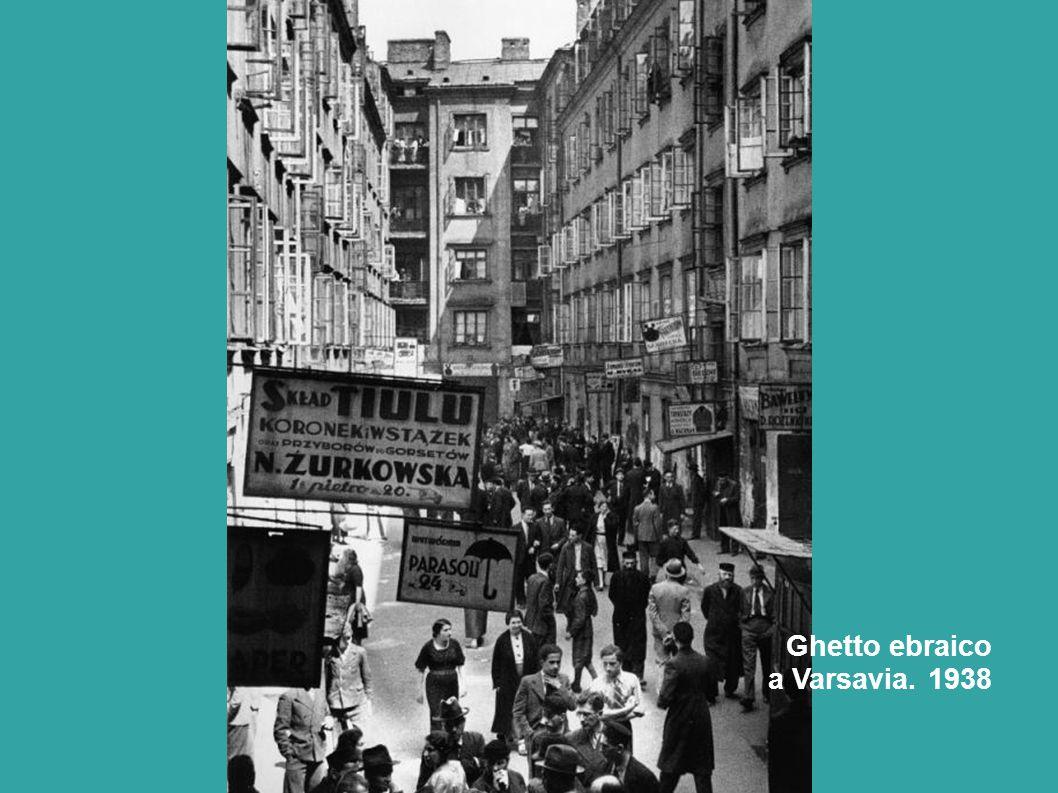 Ghetto ebraico a Varsavia. 1938