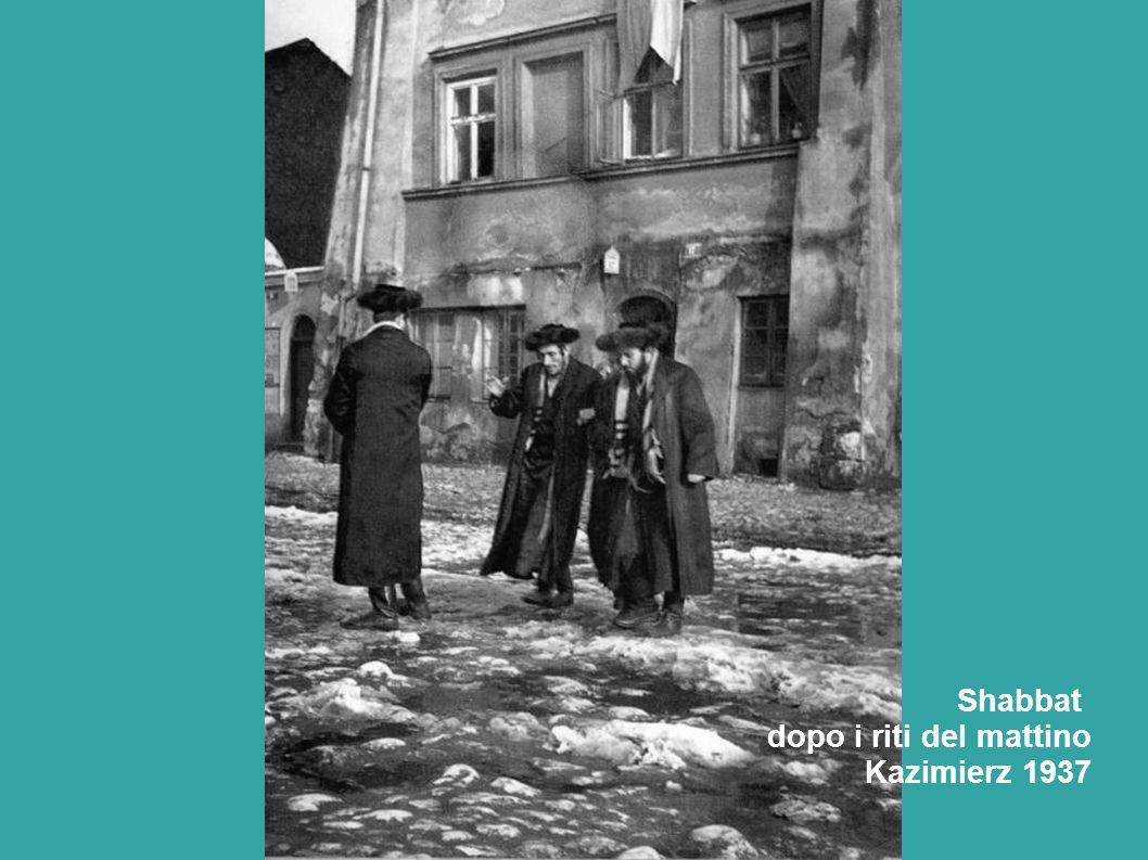 Shabbat dopo i riti del mattino Kazimierz 1937