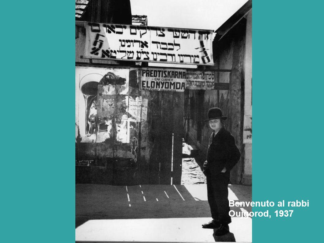 Benvenuto al rabbi Oujgorod, 1937
