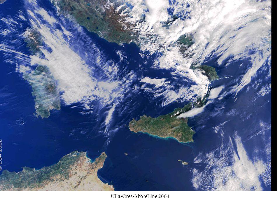 Il Canale di Sicilia è la comunicazione di due bacini molto diversi per t°C, salinità, produzione…..