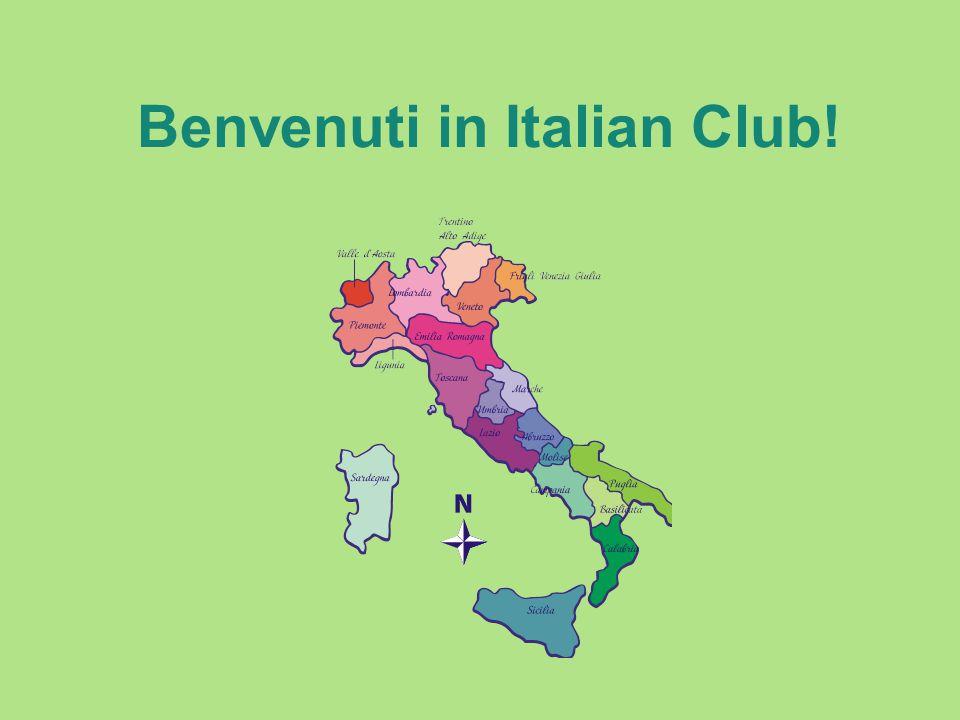 Benvenuti in Italian Club!