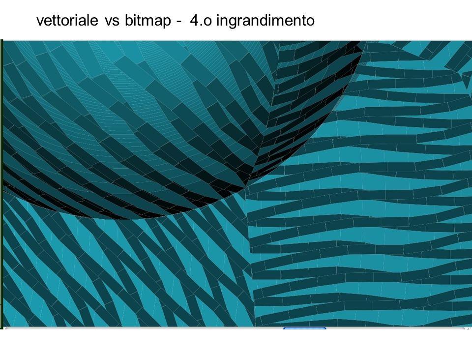 vettoriale vs bitmap - 4.o ingrandimento