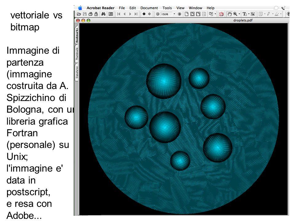 vettoriale vs bitmap - immagine di partenza (qui la resa e fatta con il Graphic Converter)...