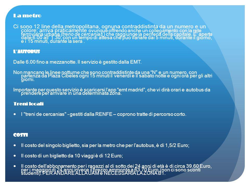 Arrivo: Riunione Informativa: spiegazione delle procedure di immatricolazione, descrizione dei servizi offerti dall'università Procedure di immatricolazione: compilare i moduli di immatricolazione (sia italiani che spagnoli) presso l'ufficio Erasmus.