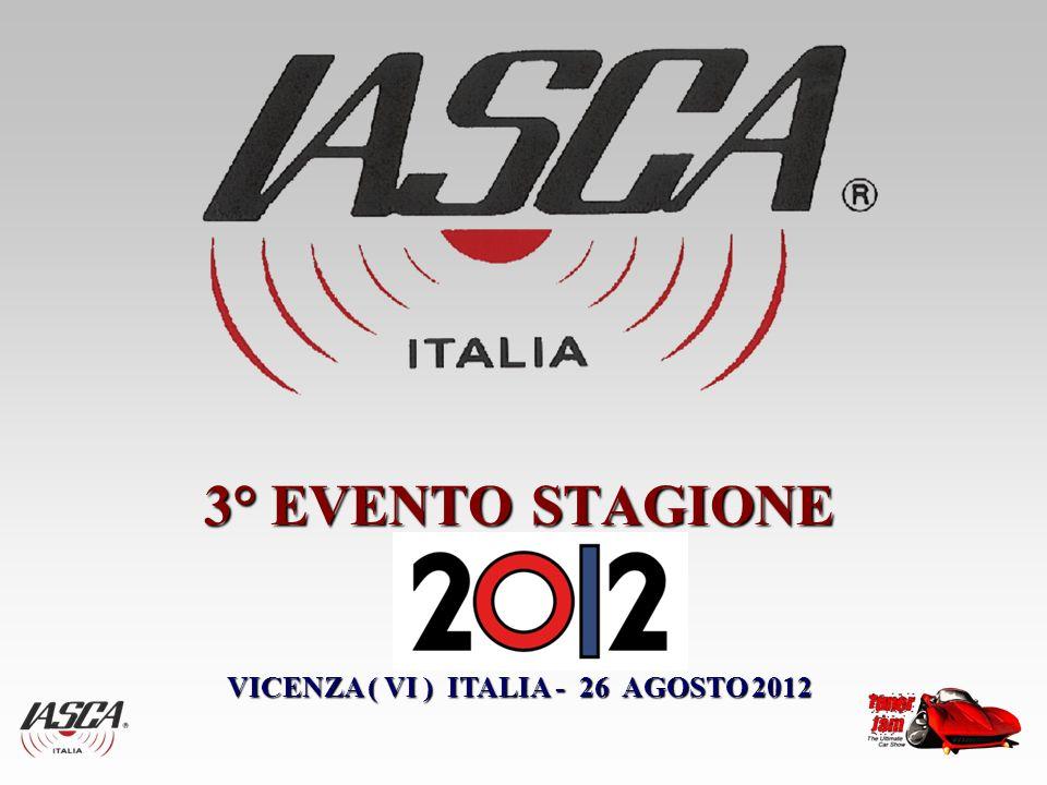 3° EVENTO STAGIONE VICENZA ( VI ) ITALIA - 26 AGOSTO 2012