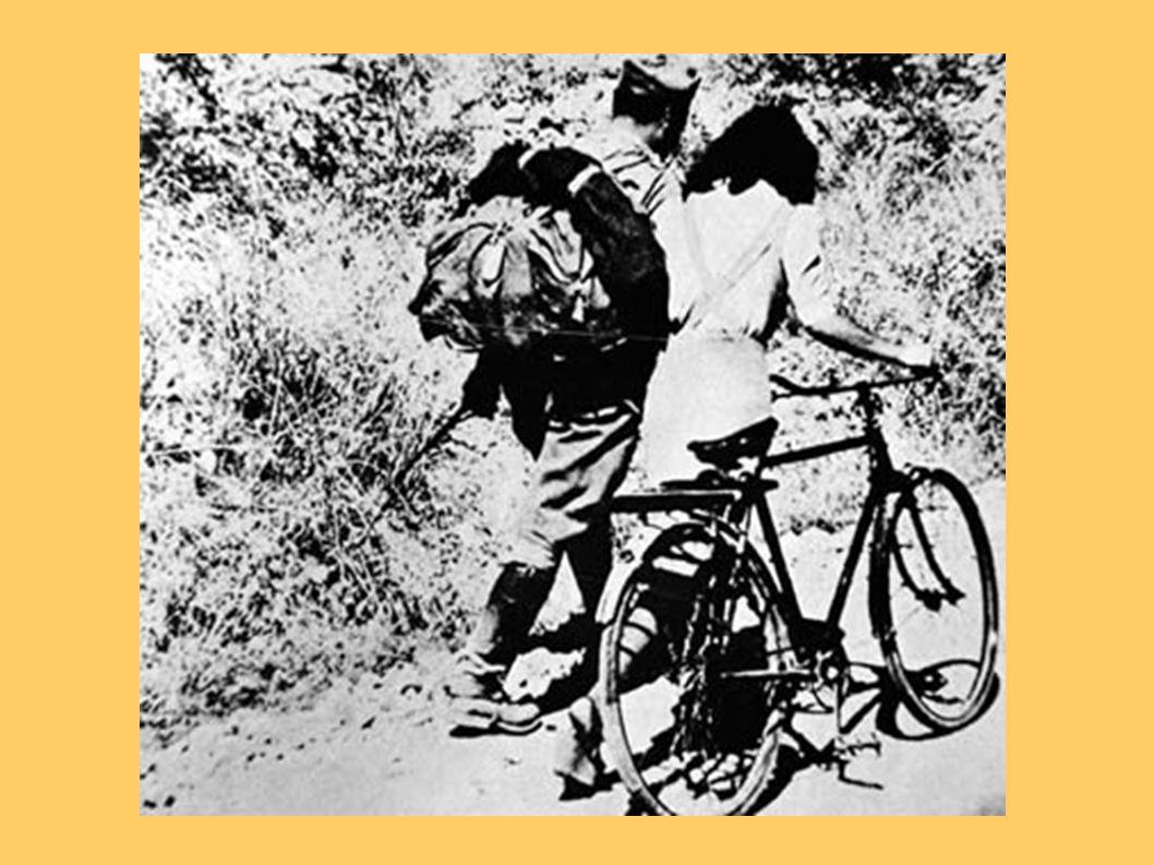 Le staffette partigiane Durante le guerre in italia, molti campioni di ciclismo non poterono gareggiare, fra i quali Bottecchia, Bartali e Bevilacqua.