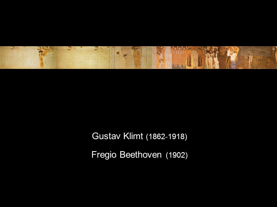 Gustav Klimt (1862-1918) Fregio Beethoven (1902)