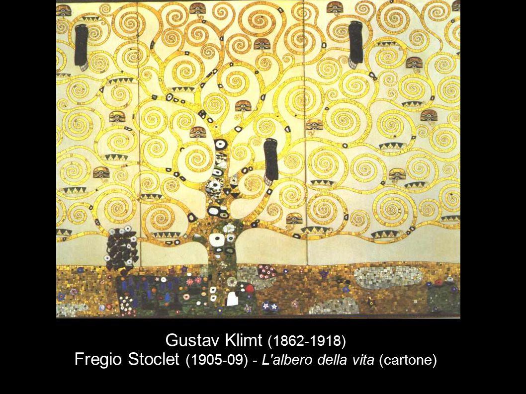 Gustav Klimt (1862-1918) Fregio Stoclet (1905-09) - L'albero della vita (cartone)