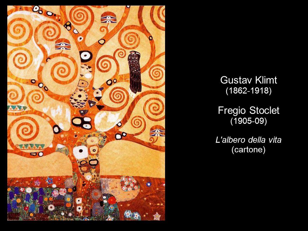 Gustav Klimt (1862-1918) Fregio Stoclet (1905-09) L'albero della vita (cartone)