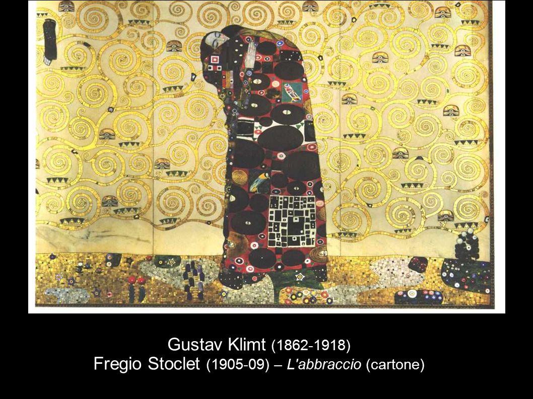 Gustav Klimt (1862-1918) Fregio Stoclet (1905-09) – L'abbraccio (cartone)
