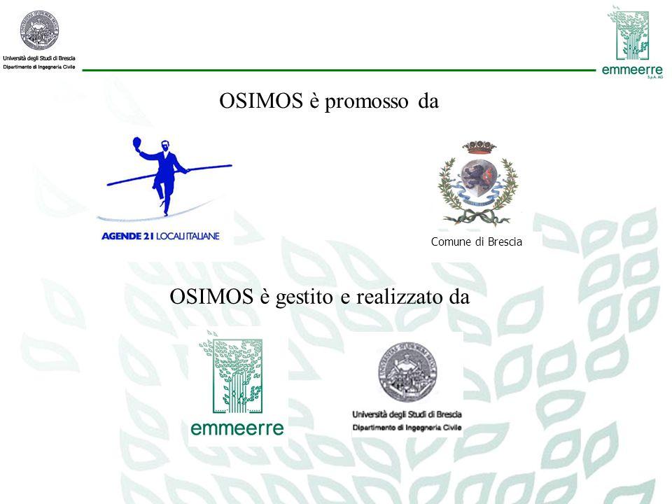 Comune di Brescia OSIMOS è gestito e realizzato da OSIMOS è promosso da