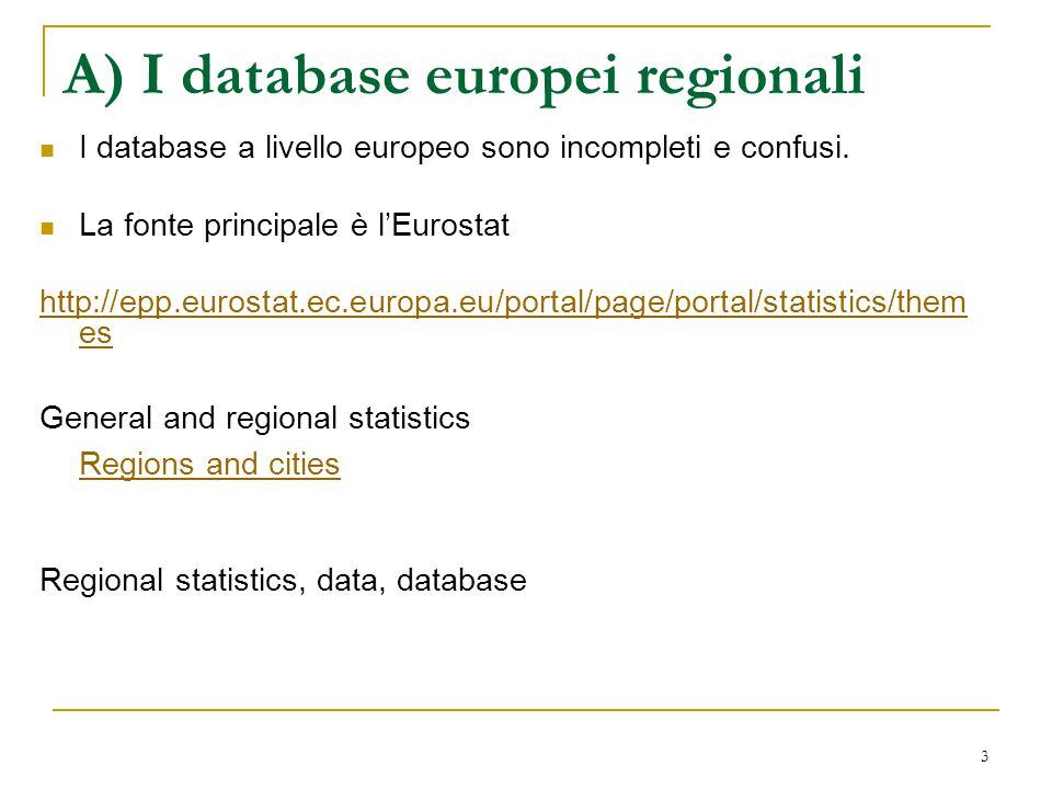 34 Le dinamiche della localizzazione nell'UE La letteratura in questa parte del paper assume che le esternalità locali influenzino la crescita locale.