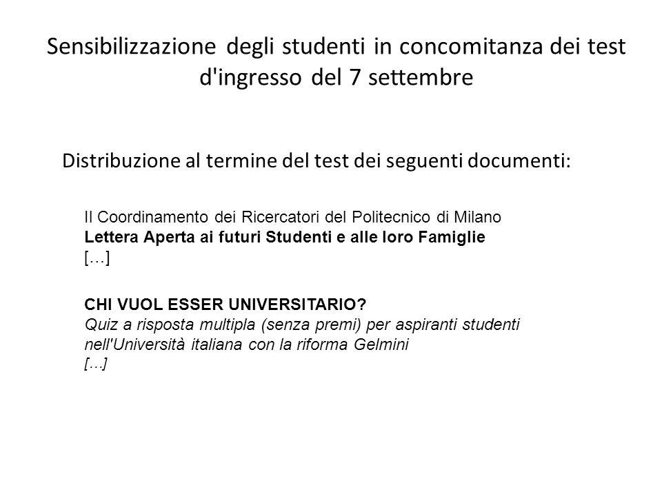 CHI VUOL ESSER UNIVERSITARIO? Quiz a risposta multipla (senza premi) per aspiranti studenti nell'Università italiana con la riforma Gelmini […] Il Coo