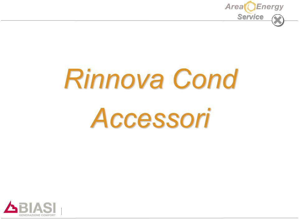 Service Rinnova Cond Accessori