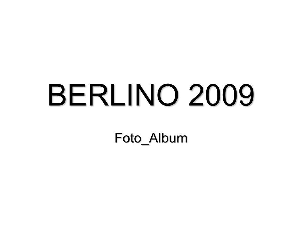 BERLINO 2009 Foto_Album