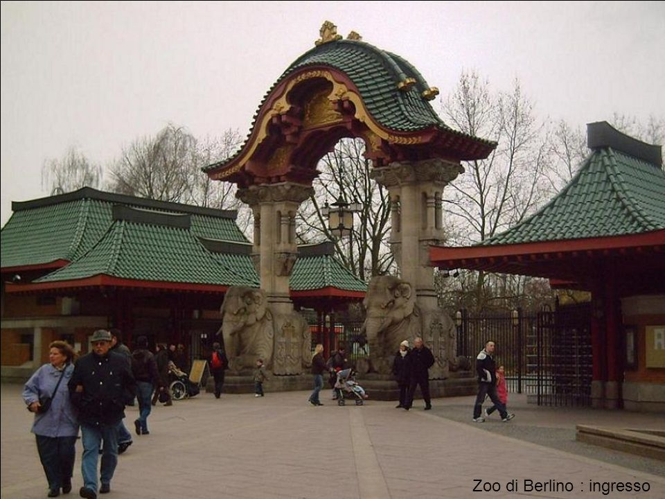 Zoo di Berlino : ingresso