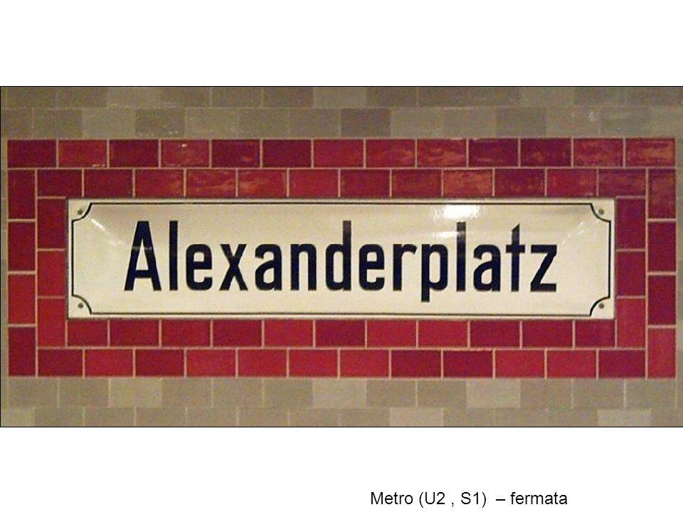 Metro (U2, S1) – fermata