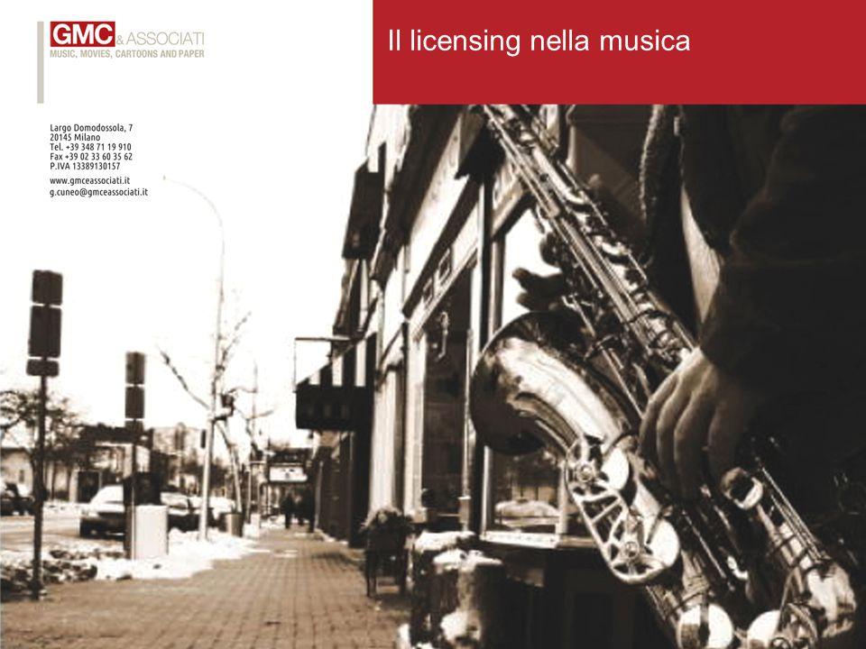 Il licensing nella musica