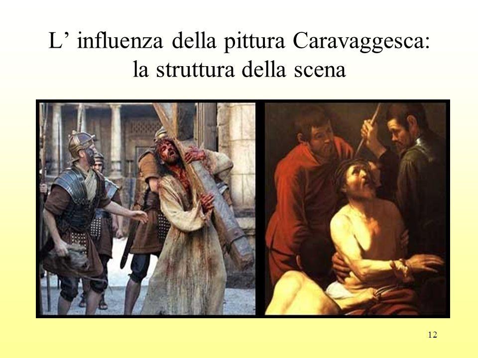 12 L' influenza della pittura Caravaggesca: la struttura della scena