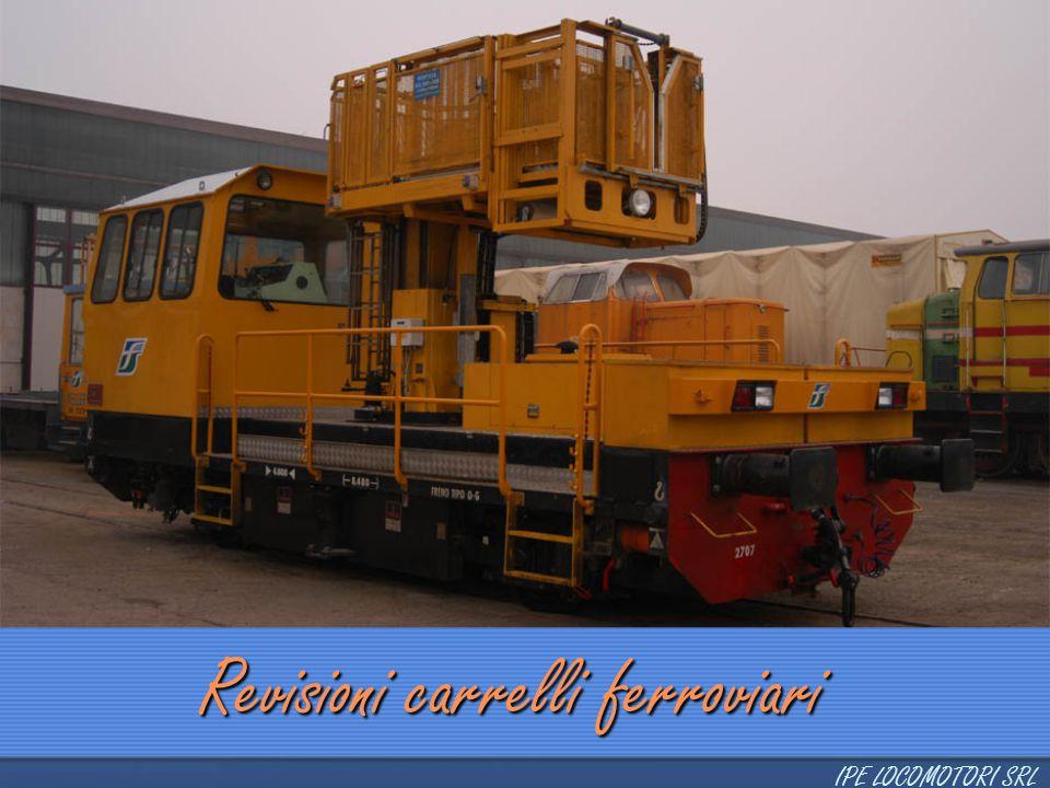 Revisioni carrelli ferroviari