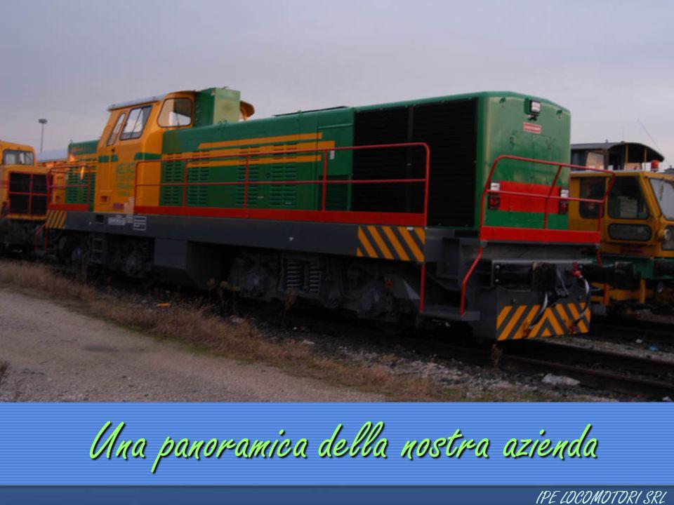 Produzione Locomotori  2 assi  3 assi  3 assi a bielle  4 assi  4 assi interporto  6 assi Locomotori a 3 assi IPE LOCOMOTORI SRL