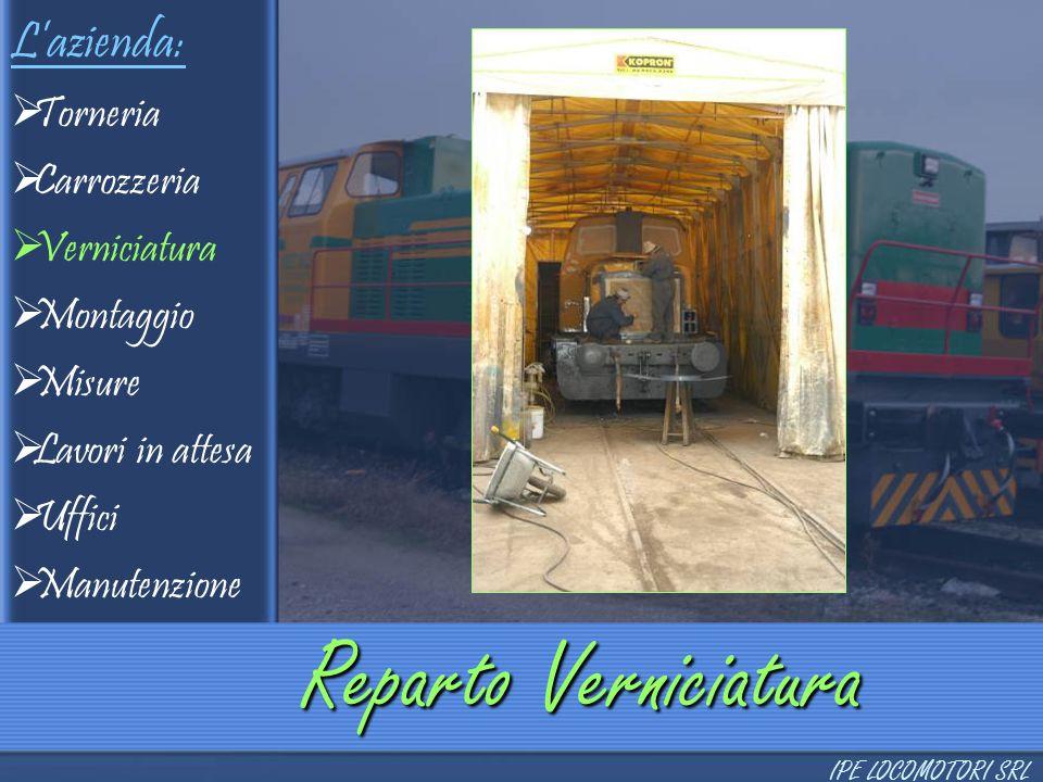 Produzione Locomotori  2 assi  3 assi  3 assi a bielle  4 assi  4 assi interporto  6 assi Locomotori a 4 assi interporto IPE LOCOMOTORI SRL