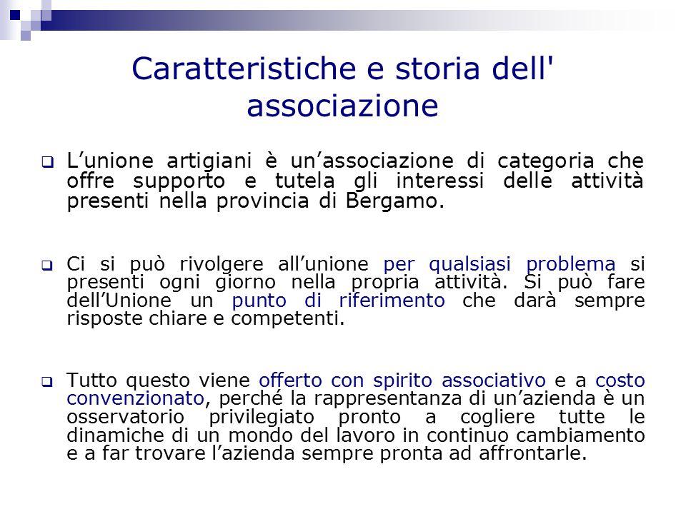 Organigramma sulle figure di rappresentanza  Presidente: Remigio Villa  Vice Presidenti: Carlo Ceresoli e Angelo Albani.