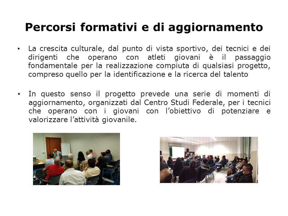 Il 7 maggio 2013 si è svolto un incontro con i Direttori Tecnici delle Squadre Nazionali per definire il percorso da seguire nella realizzazione del Progetto Talento.