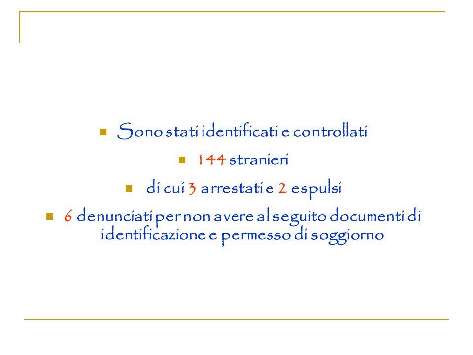 PREVENZIONE E CONTRASTO IMMIGRAZIONE CLANDESTINA.