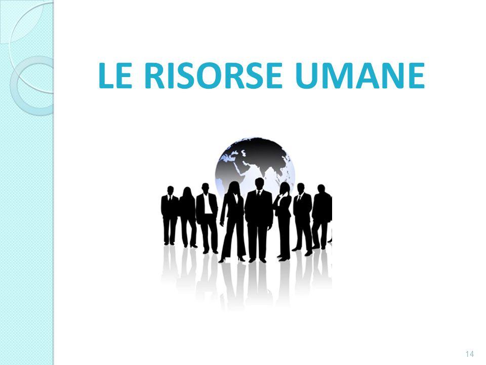 LE RISORSE UMANE 14