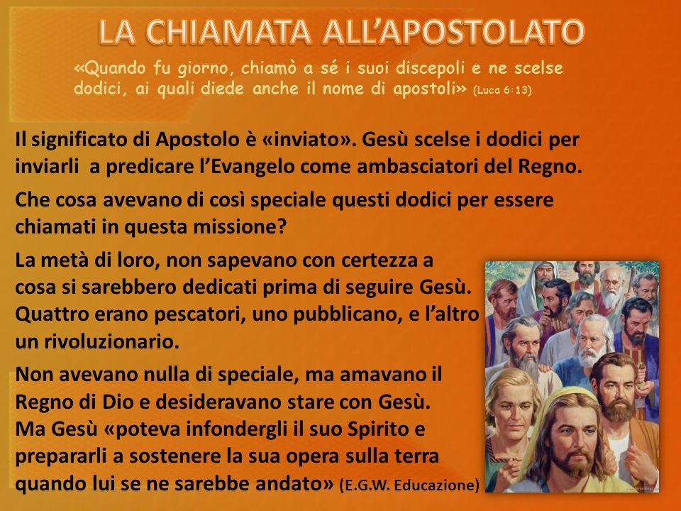 Secondo questo passaggio, cosa indica la missione apostolica?