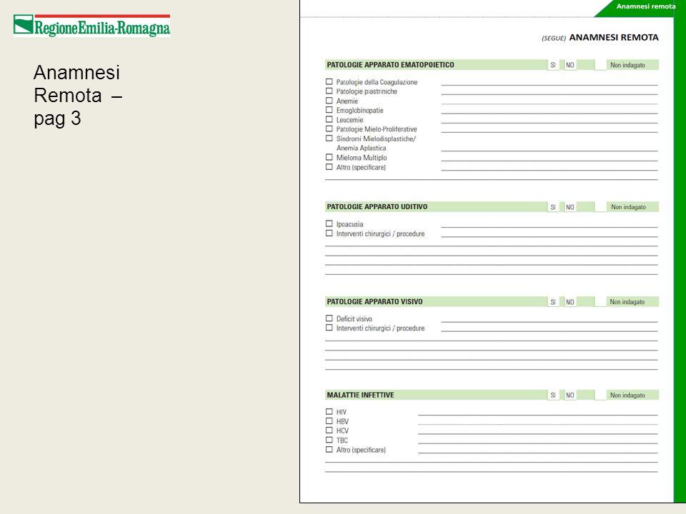 Relazione Integrata di Dimissione – dettaglio pag 1