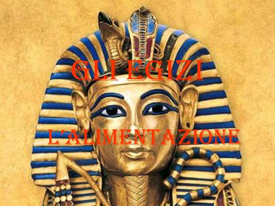 Gli egizi L'alimentazione