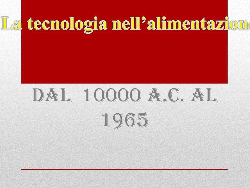 Dal 10000 a.C. al 1965