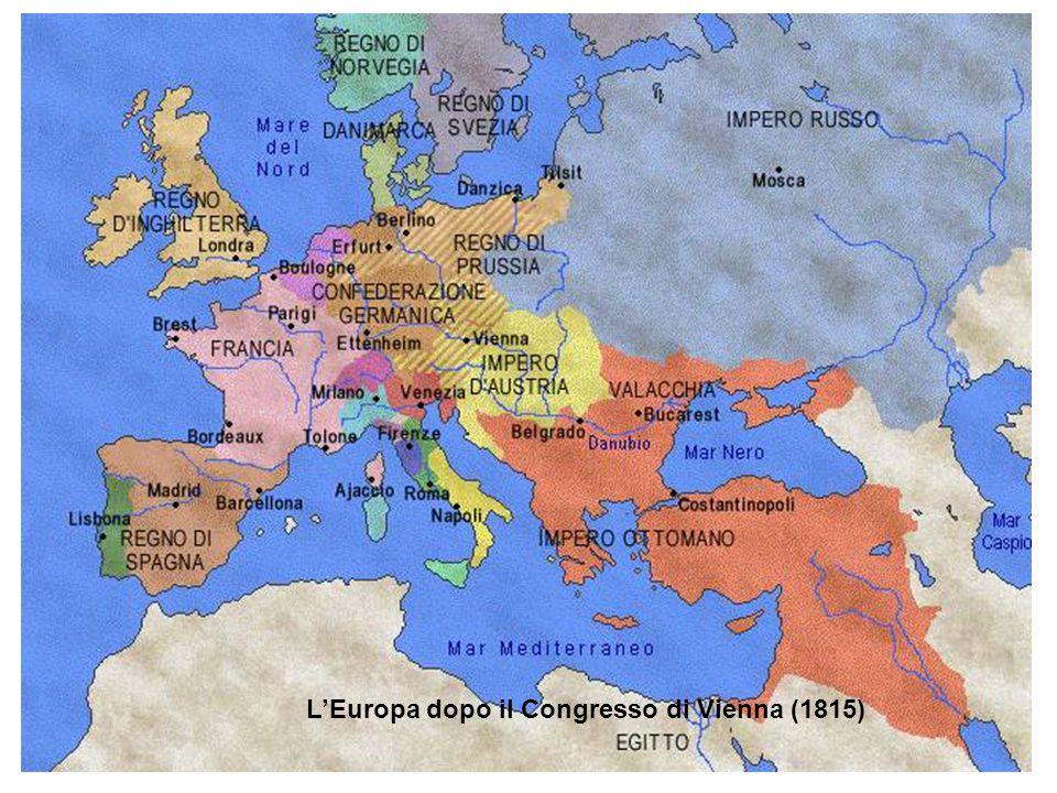 L'Europa alla vigilia della Prima guerra mondiale (1914)
