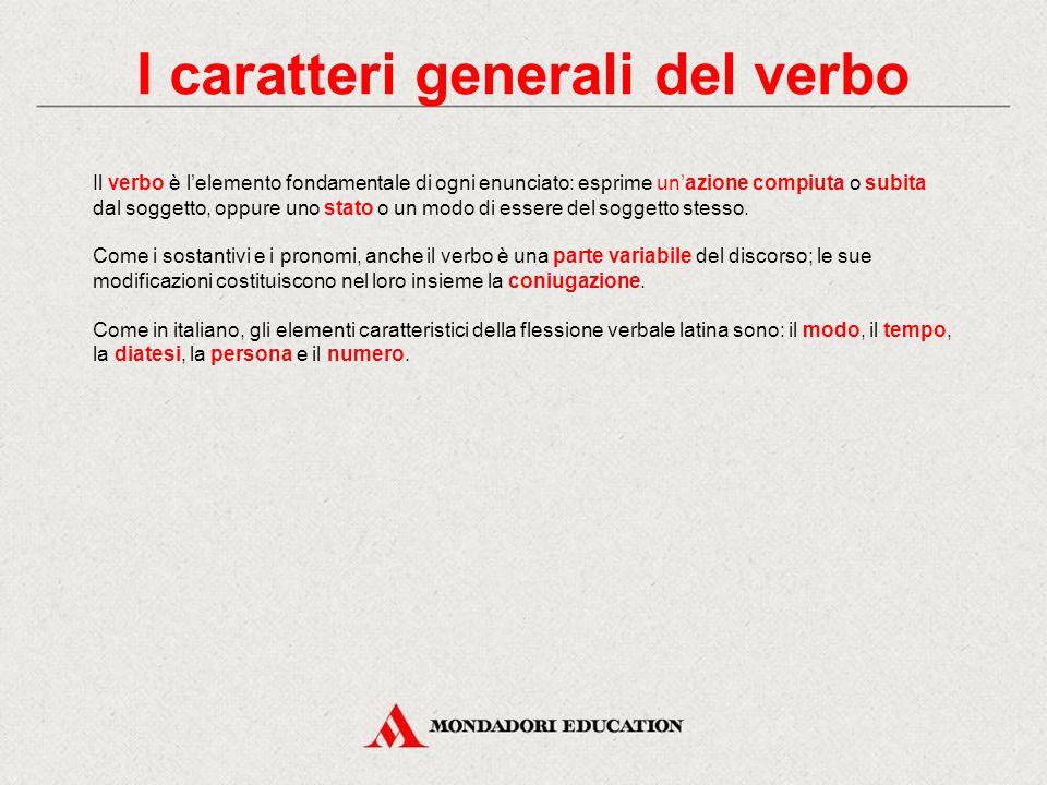 In italiano 2)indefiniti nella persona: infinito → ha 2 tempi: presente (sintetico) e passato (composto) participio → ha 2 tempi: presente (sintetico)