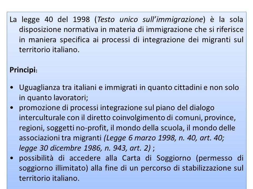 La legge 189/2002 - Bossi-Fini.