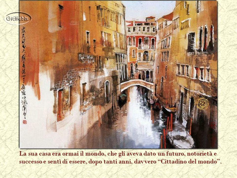 La sua pittura lo portò sempre più lontano, esponendo nelle gallerie più note.
