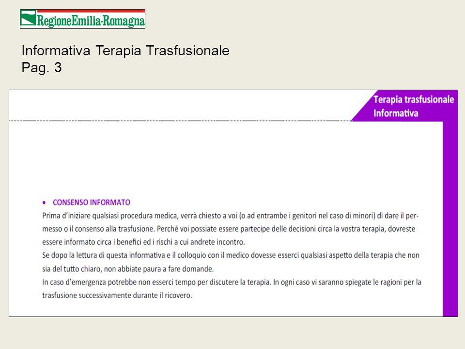 Informativa Terapia Trasfusionale Pag. 3